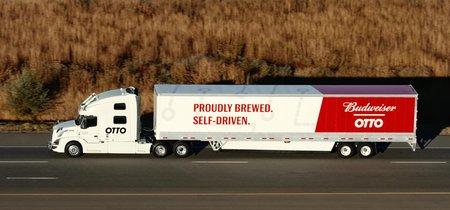 La primera entrega de un camión de cerveza autónomo ha terminado con éxito: ya no hay vuelta atrás
