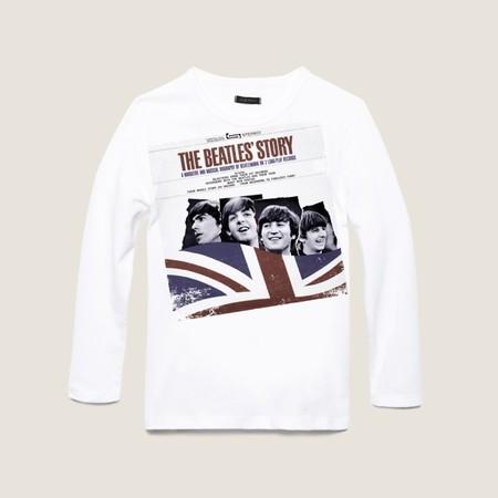 100% genuine good looking exquisite style El rock and roll de The Beatles vive en las camisetas ...