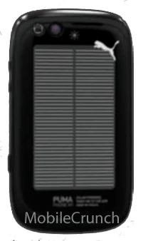 Nuevo PumaPhone ¿con panel solar?