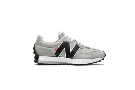 Levi S X New Balance Men S Grey 327 Sneaker Outside