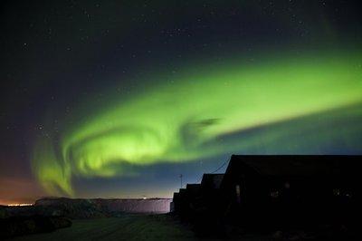 Una webcam para ver las auroras boreales en Abisko (Suecia)