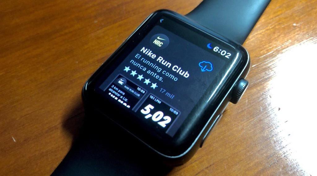 Nike Run Club para Apple™ Watch ya es alguna apps completamente autosuficiente del iPhone tras su última actualización