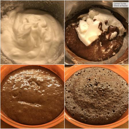 Paso A Paso Bizcocho De Chocolate En Microondas