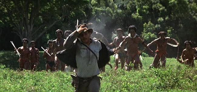 Indiana Jones Angry Natives