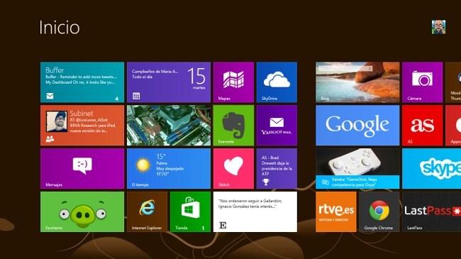 Por fin he visto un Windows 8 trabajando en la empresa