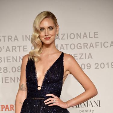Chiara Ferragni luce espectacular en la alfombra roja del Festival de Venecia 2019