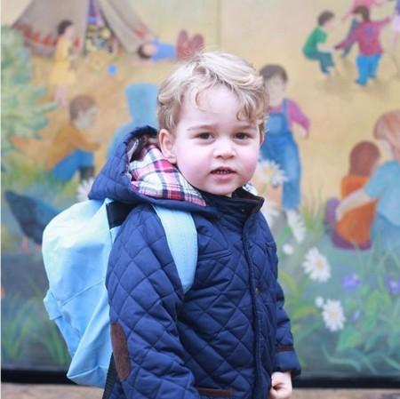 ¡Cómo crecen estos niños! El Príncipe George ya va a la guardería