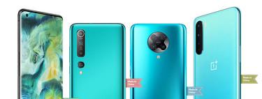 Los mejores móviles chinos de 2020