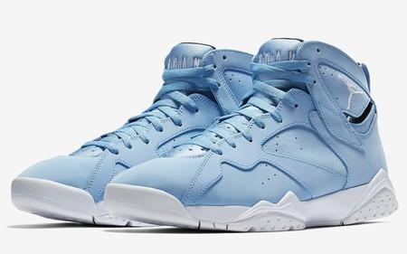 El Air Jordan 7 Retro Se Reinventa Como El Icono Es Que Es Y Se Pinta De Azul
