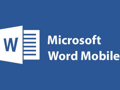Microsoft Word Mobile se actualiza con nuevas herramientas de escritura