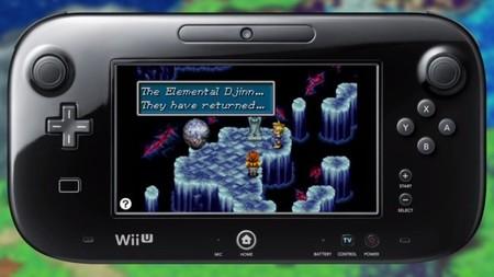 Ya están disponibles Golden Sun y F-Zero: Maximum Velocity en la Consola Virtual de Wii U