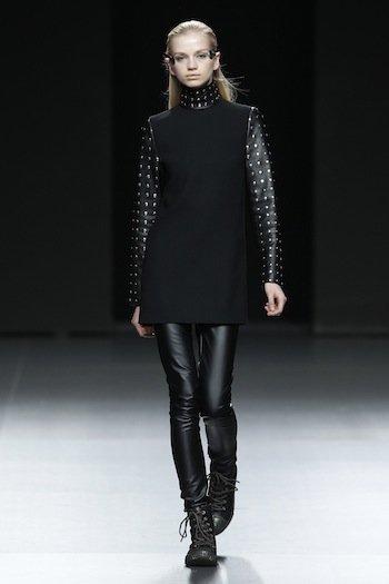 Carlos Diez en la semana en la Cibeles Madrid Fashion Week
