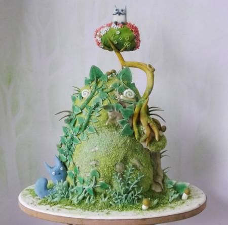 Totoro Cake Food Art 2 605