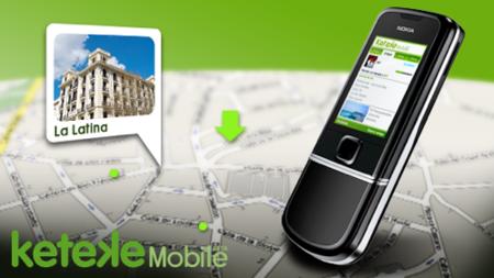 Keteke Mobile, acceso a la red social desde el móvil