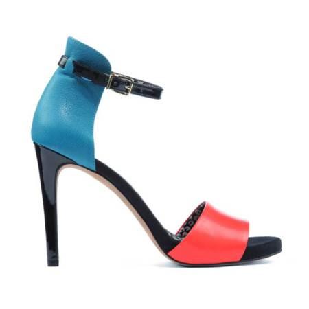 Las sandalias de colorines de Jessica Simpson