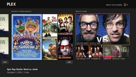 Plex llegará a Xbox One en breve y la consola de Microsoft gana en opciones multimedia