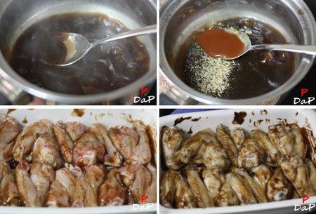 Pasos alitas de pollo