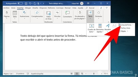 Cómo Firmar Un Documento De Word