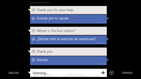 Traductor de Bing incorpora entrada de voz en Windows 8 y se actualiza en Windows Phone 8