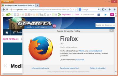 Firefox 28 debuta con soporte de vídeo VP9 y Gamepad API habilitado