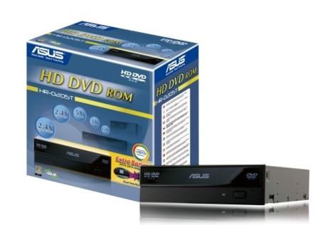 Lector de HD DVD para ordenador de Asus
