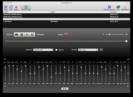 AudioRefurb, mejora el sonido de tus archivos de audio