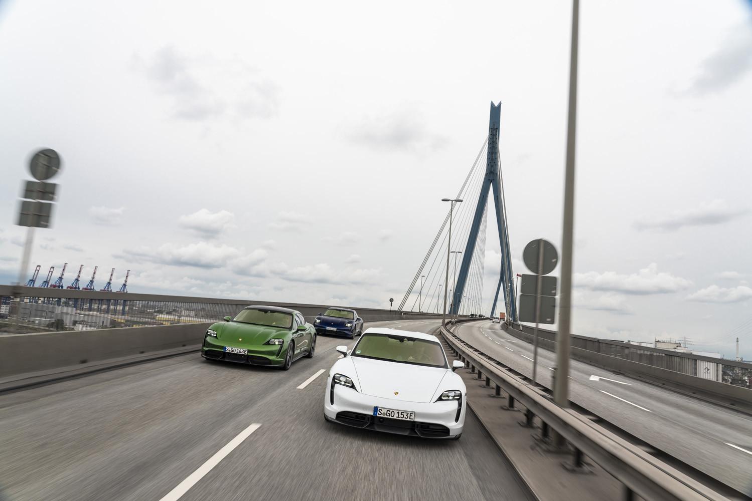Foto de Porsche Taycan prueba contacto (128/275)