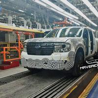 Ford fabricó las primeras unidades de la posible nueva Maverick en México: un Bronco Sport hecho pick-up