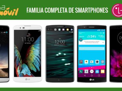 Así queda el catálogo de smartphones LG tras la llegada del LG G5