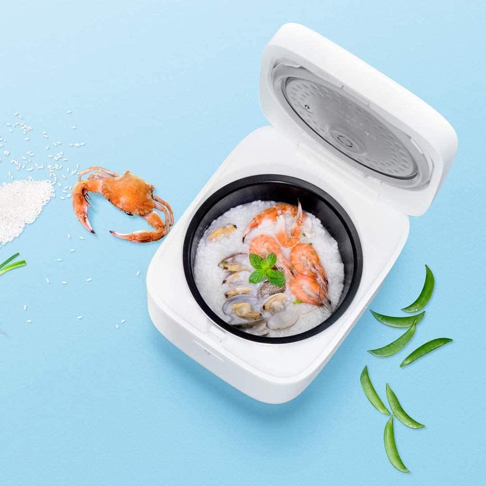Xiaomi Mi Rice Cooker EU version - Arrocera Inteligente con WIFI, 3 litros de capacidad, más de 3000 métodos de cocción, color blanco.