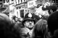 La policia de Londres borra fotos a los turistas