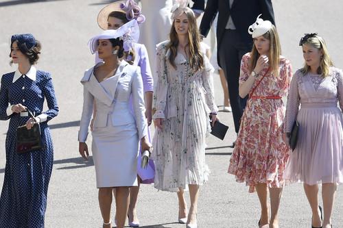 Boda del Príncipe Harry y Meghan Markle: duelo de estilo entre aristócratas y actrices, ¿quién ha vestido mejor?