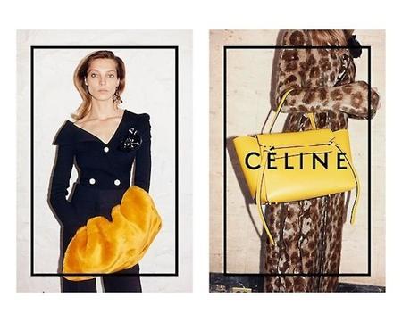 Daria Werbowy siguen encandilando a Céline