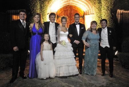 Luisana Lopilato Michael Buble 2011 Boda Vestido Novia