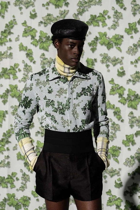 Dior Vuelve A Apostar Por El Arte Ahora Con Amoako Boafo Para Su Coleccion Primavera Verano 2021 1