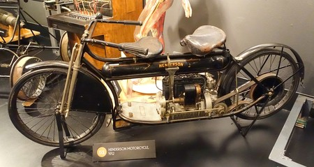 Henderson Motorcycle 1912 Museum Of Science And Industry Chicago