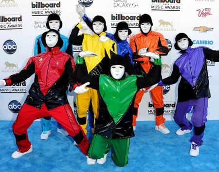 El inexistente estilo masculino de la gala de los Billboard 2013
