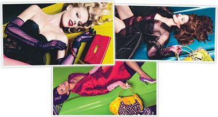 Supermodelos para la campaña Primavera/Verano 2008 de Louis Vuitton