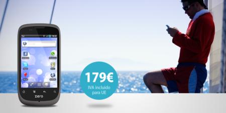 GeeksPhone Zero ya a la venta