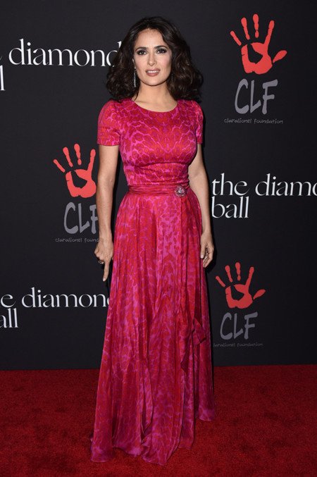 Salma Hayek Annual Diamond Ball 2014