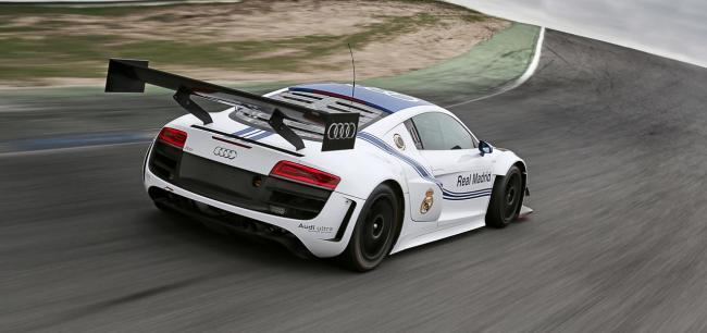 Audi R8 LMS Real Madrid Edition