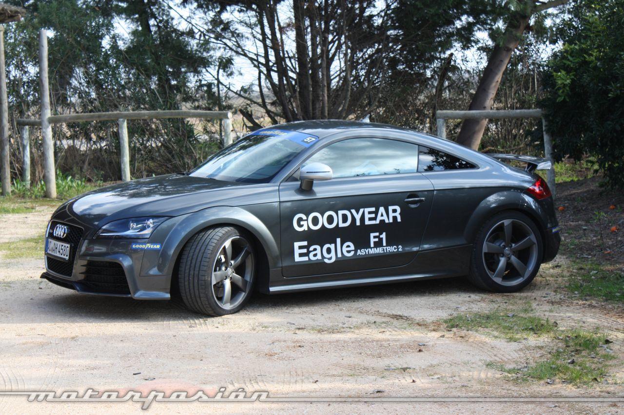 Foto de Goodyear Eagle F1: Audi TT RS, Audi A7 y Mercedes CLS (8/79)