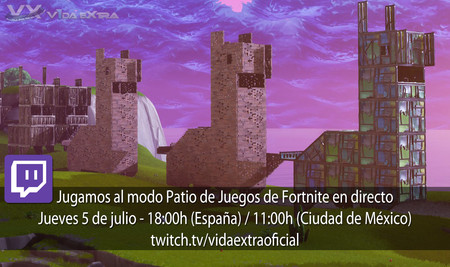 Streaming del Patio de Juegos de Fortnite: Battle Royale a las 18:00h (las 11:00h en CDMX) [finalizado]