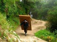 Sherpas en Nepal