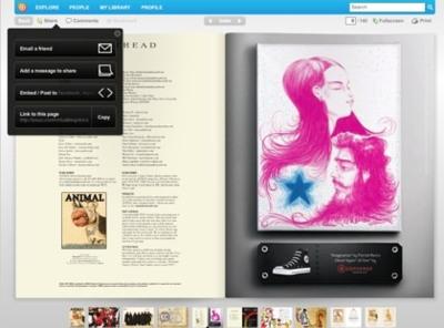 Issuu, convierte tus documentos PDF en revistas virtuales