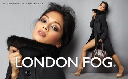 Hay que ver lo bien que le sienta a Nicole Scherzinger la niebla de Londres...