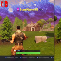 Fortnite en Nintendo Switch frente a la versión de Xbox One X en una comparativa de Digital Foundry