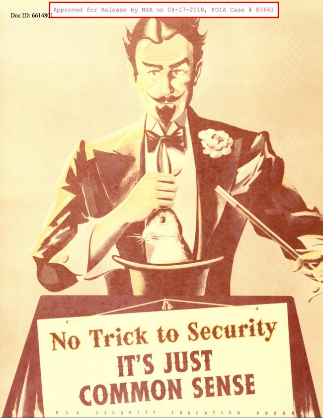 Window Y National Security Company Nsa Security Motivational Posters From The 1950s And Sixties 4