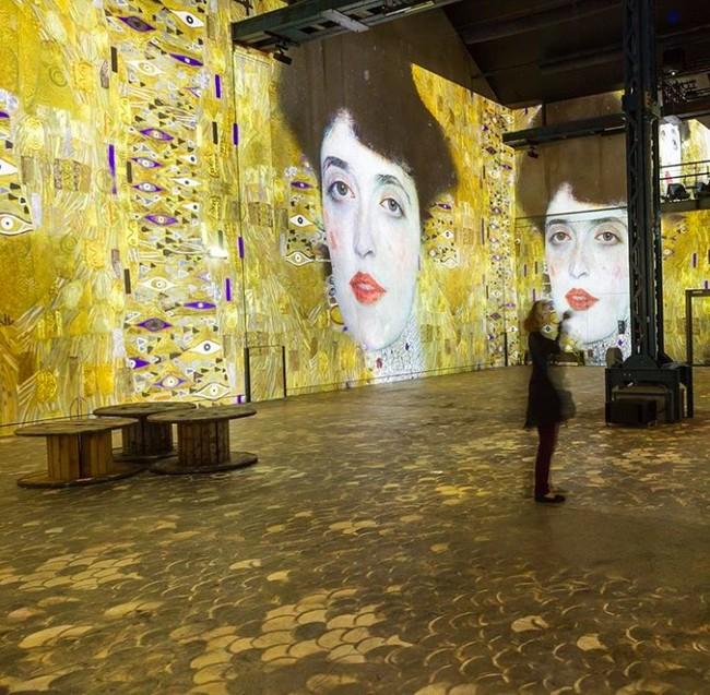 Atelier des Lumières: el primer Centro de Arte Digital abre en París, a lo grande, con Gustav Klimt