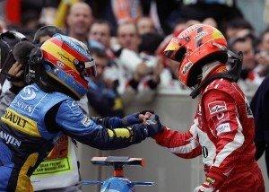 Schumacher relativiza a Alonso